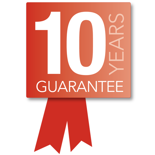 MHS 10 year Guarantee